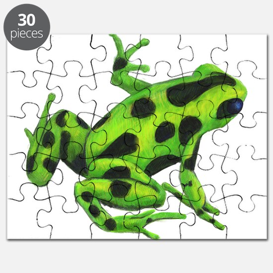 Green Dart Frog Puzzle