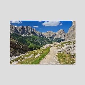 Dolomiti - footpath in Val Badia Magnets