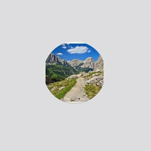 Dolomiti - footpath in Val Badia Mini Button