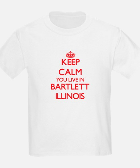 Keep calm you live in Bartlett Illinois T-Shirt