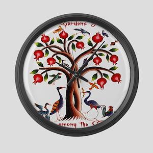 Babylon Tree of Life Large Wall Clock
