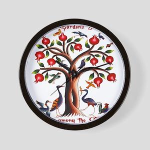 Babylon Tree of Life Wall Clock