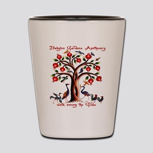 Babylon Tree of Life Shot Glass