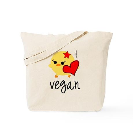 Vegan Love Tote Bag