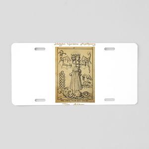 Transmutational Alchemy Aluminum License Plate