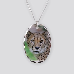 Cheetah_2014_0901 Necklace Oval Charm