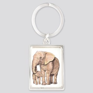 Mother and Child Keychains