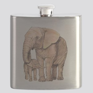 Mother and Child Flask