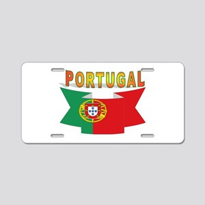 Portuguese ribbon Aluminum License Plate