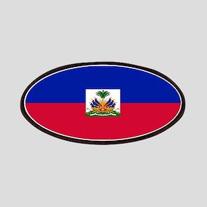 Haitian flag Patches