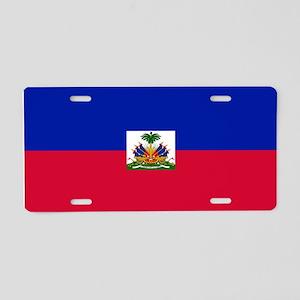 Haitian flag Aluminum License Plate