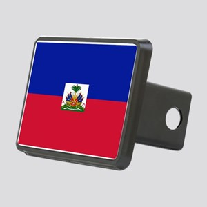 Haitian flag Rectangular Hitch Cover