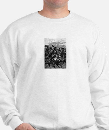 Richard III at the Battle of Bosworth Sweatshirt