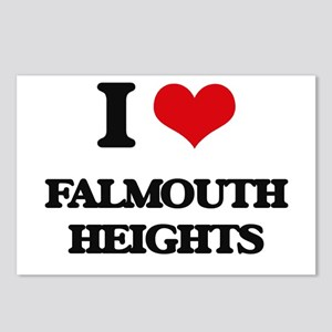 I Love Falmouth Heights Postcards (Package of 8)