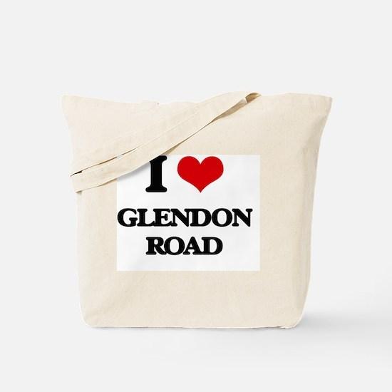 I Love Glendon Road Tote Bag