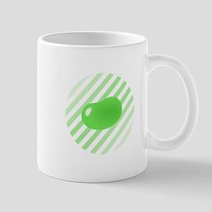 green jellybean stripes Mug