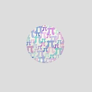 Watercolor Pi Mini Button
