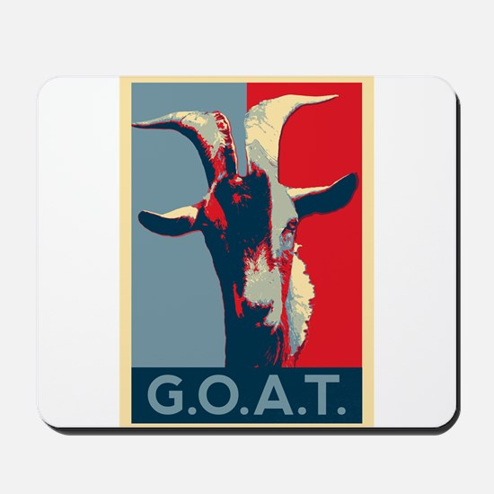 Greatest of all time - G.O.A.T. Mousepad