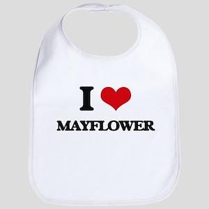I Love Mayflower Bib