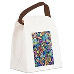 Curleys & Dragonflies Canvas Lunch Bag