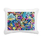 Curleys & Dragonflies Rectangular Canvas Pillow