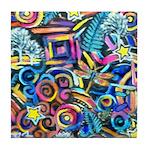 Curleys & Dragonflies Tile Coaster