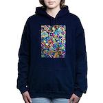 Curleys & Dragonflies Women's Hooded Sweatshirt