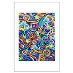 Curleys & Dragonflies Large Poster