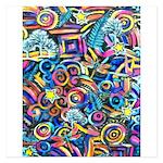 Curleys & Dragonflies 5.25 x 5.25 Flat Cards