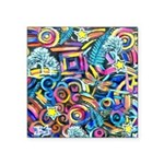 Curleys & Dragonflies Square Sticker 3