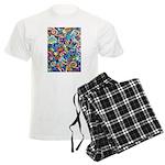 Curleys & Dragonflies Men's Light Pajamas