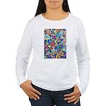 Curleys & Dragonflies Women's Long Sleeve T-Shirt