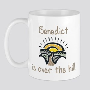 Benedict is over the hill Mug