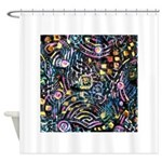 PS-Maze1 Shower Curtain