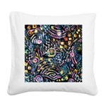 PS-Maze1 Square Canvas Pillow