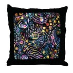 PS-Maze1 Throw Pillow