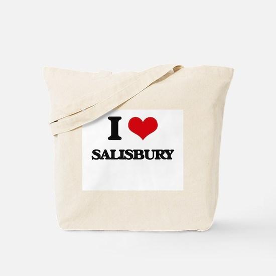 I Love Salisbury Tote Bag