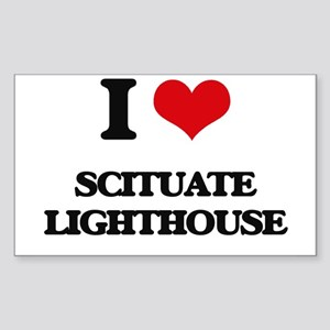 I Love Scituate Lighthouse Sticker