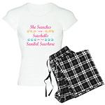 Sanibel shelling Women's Light Pajamas