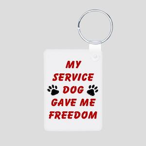 SERVICE DOG Keychains