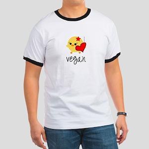 Vegan Love Ringer T