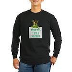 Frog Prince Long Sleeve Dark T-Shirt