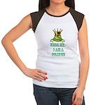 Frog Prince Women's Cap Sleeve T-Shirt