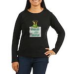 Frog Prince Women's Long Sleeve Dark T-Shirt