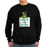 Frog Prince Sweatshirt (dark)