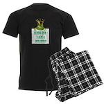 Frog Prince Men's Dark Pajamas