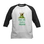 Frog Prince Kids Baseball Jersey