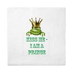 Frog Prince Queen Duvet