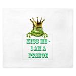 Frog Prince King Duvet