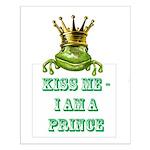 Frog Prince Small Poster